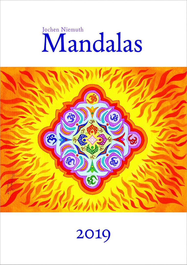 Niemuth, Jochen: Mandala-Kalender 2019 - J.H. Röll Verlag